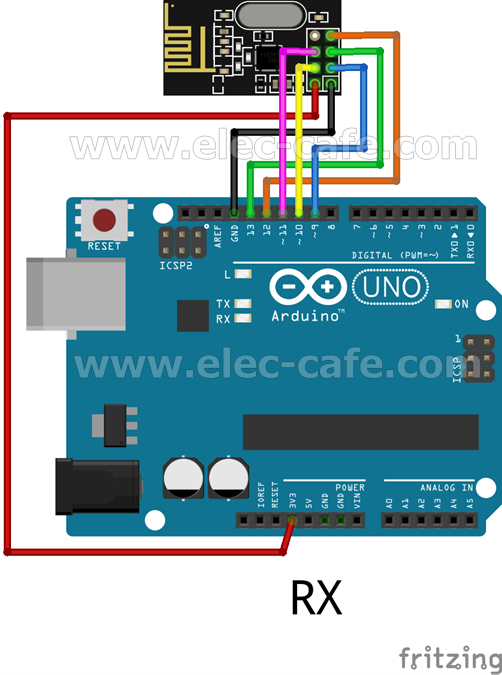 nRF24L01_DS18B20_Arduino_UNO_RX_Elec-Cafe