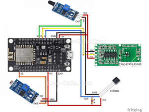 ESP8266 NodeMCU V3 Multi Sensor